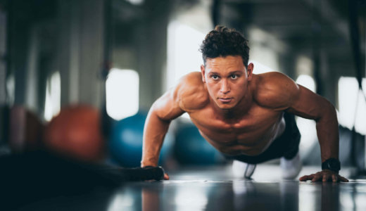 腕立て伏せで胸筋に効かせるコツ【効果的に大胸筋を鍛えよう】