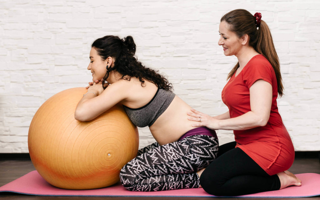 妊娠中に負担がかかりやすい筋肉