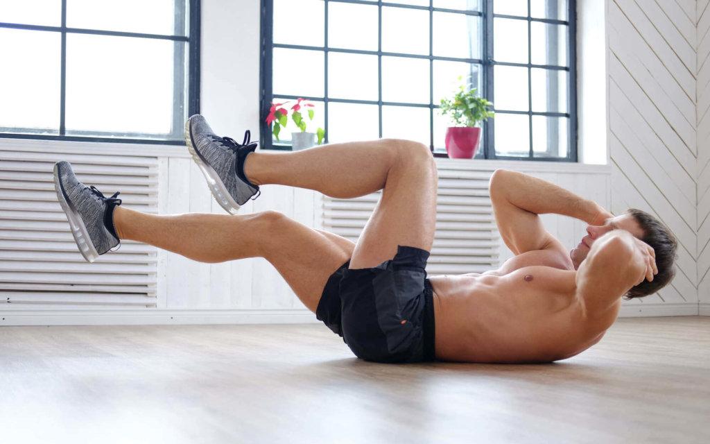 自宅でできる腹筋トレーニング種目