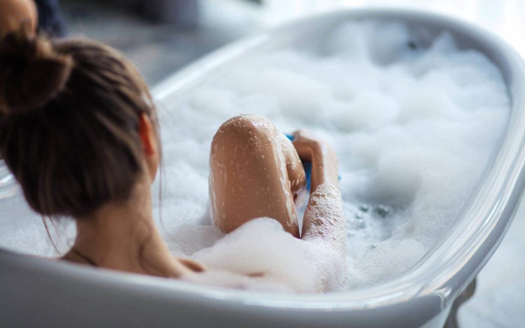 お風呂でできる腹筋トレーニング