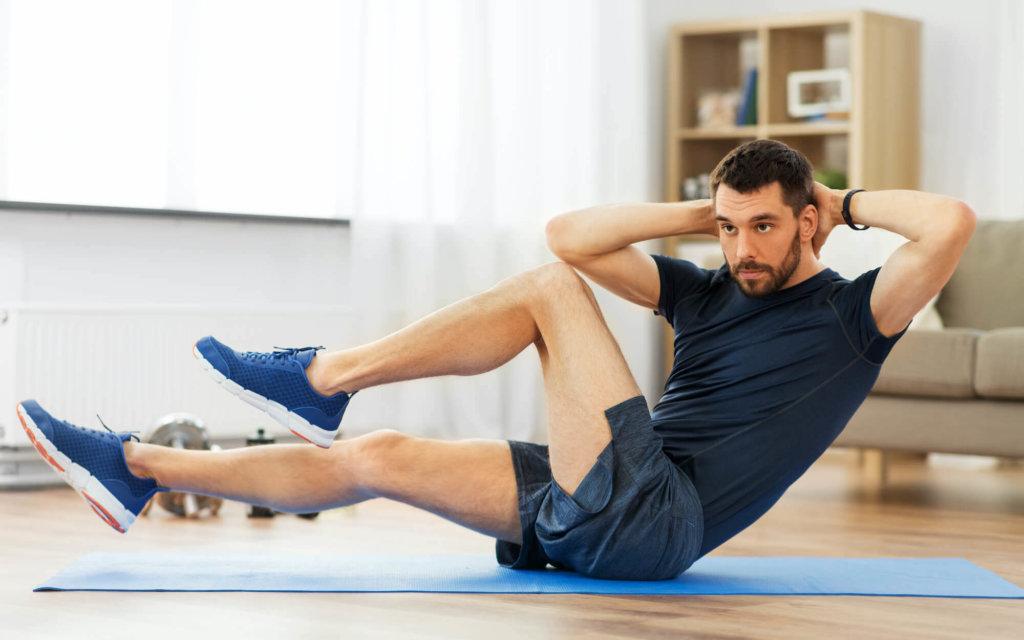 腹筋を鍛えるための自重トレーニング【お腹の引き締めに取り入れよう】