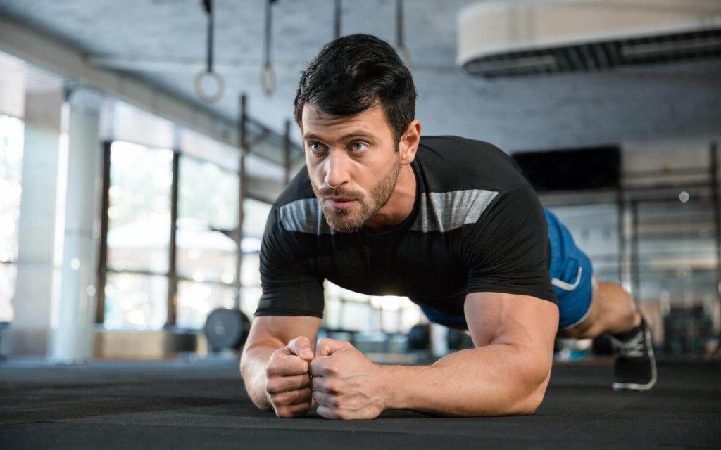 腹筋を鍛えるための自重トレーニング種目