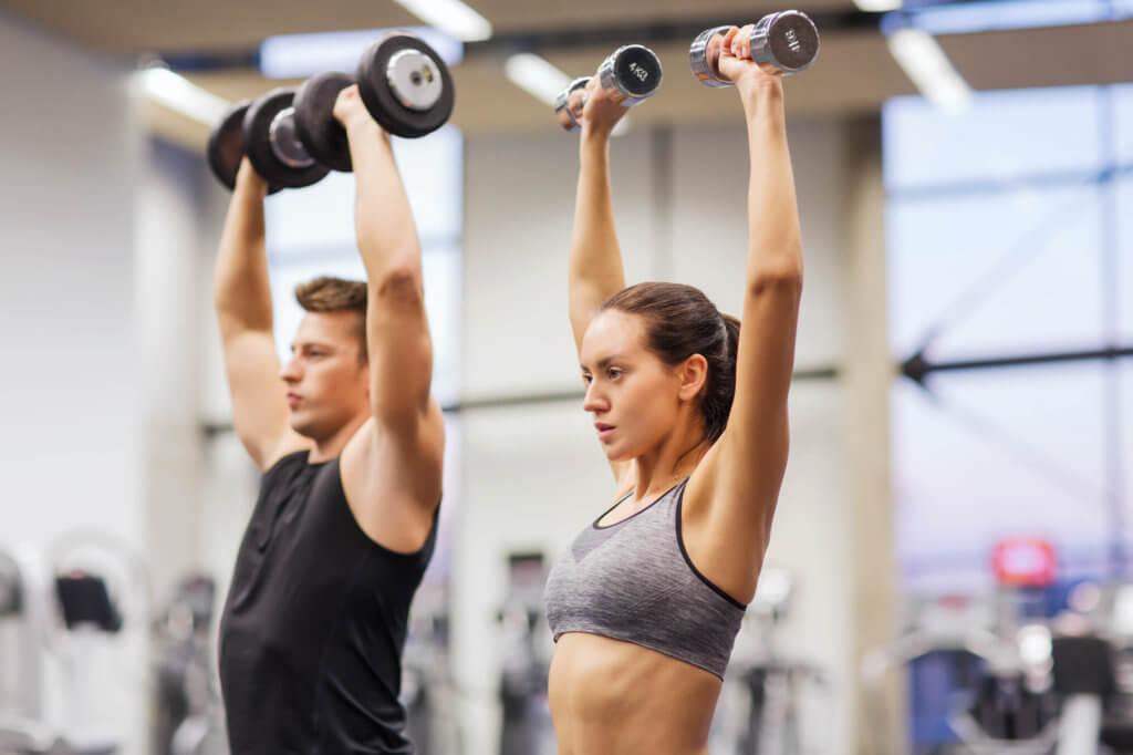 肩の筋トレをするときのポイントと注意点